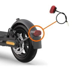 Xiaomi scooter tail light